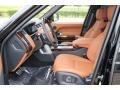 2016 Land Rover Range Rover Ebony/Tan Interior Front Seat Photo