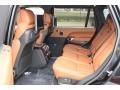 2016 Land Rover Range Rover Ebony/Tan Interior Rear Seat Photo