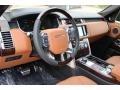 2016 Land Rover Range Rover Ebony/Tan Interior Prime Interior Photo