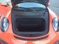 Black/Lava Orange Trunk Photo for 2016 Porsche 911 #108756898