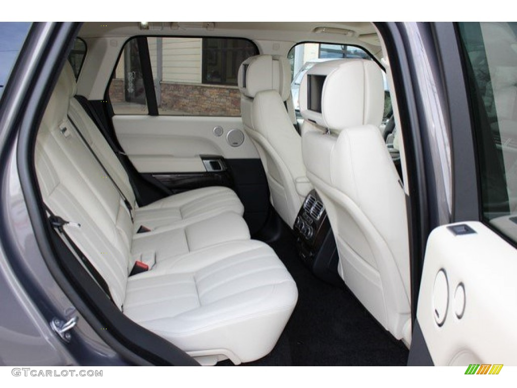 2016 Land Rover Range Rover Supercharged Rear Seat Photo #108757072