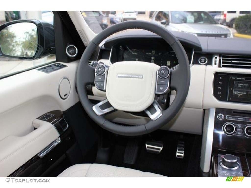 2016 Land Rover Range Rover Supercharged Steering Wheel Photos