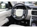 Ebony/Ivory Steering Wheel Photo for 2016 Land Rover Range Rover #108757177