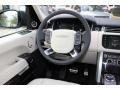 Ebony/Ivory 2016 Land Rover Range Rover Supercharged Steering Wheel
