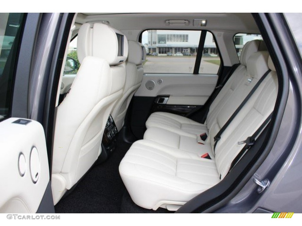 2016 Land Rover Range Rover Supercharged Rear Seat Photos