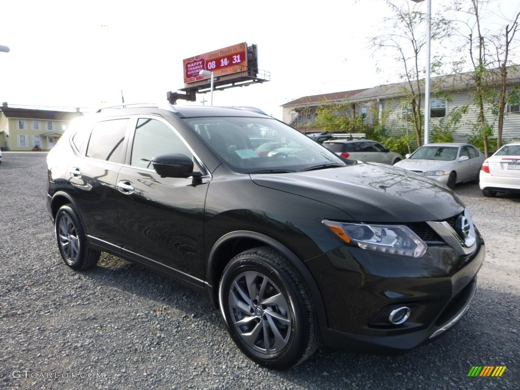 2016 midnight jade nissan rogue sl awd 108755134 car color galleries. Black Bedroom Furniture Sets. Home Design Ideas