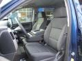 Jet Black Front Seat Photo for 2016 Chevrolet Silverado 1500 #108780793