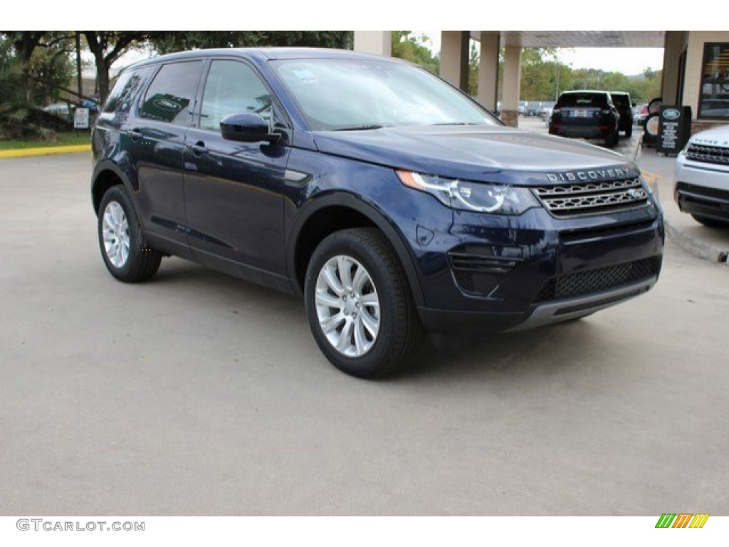 2016 loire blue metallic land rover discovery sport se 4wd. Black Bedroom Furniture Sets. Home Design Ideas