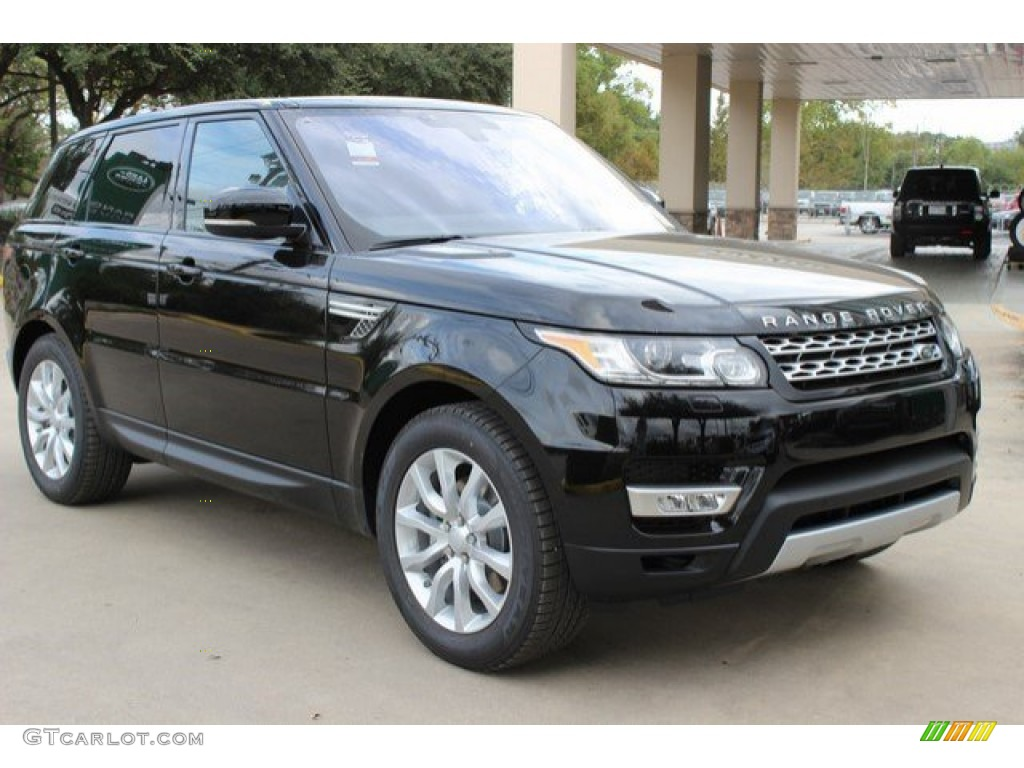 2016 santorini black metallic land rover range rover sport hse 108755175 photo 2 gtcarlot. Black Bedroom Furniture Sets. Home Design Ideas