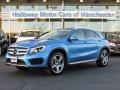 South Seas Blue Metallic 2015 Mercedes-Benz GLA 250 4Matic