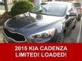 Smokey Blue 2015 Kia Cadenza Gallery
