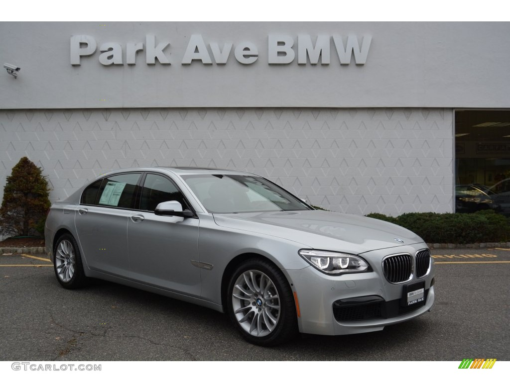 2015 glacier silver metallic bmw 7 series 750li xdrive sedan