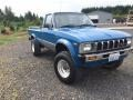 Medium Blue 1982 Toyota Pickup SR5 Regular Cab 4x4