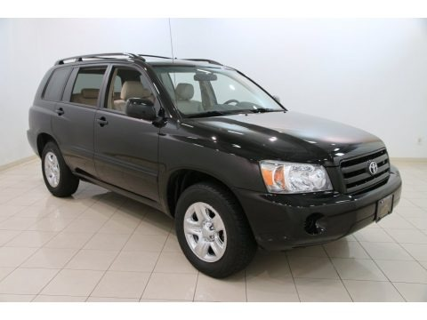 2007 toyota highlander data info and specs. Black Bedroom Furniture Sets. Home Design Ideas