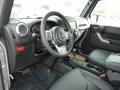 Black 2016 Jeep Wrangler Unlimited Interiors