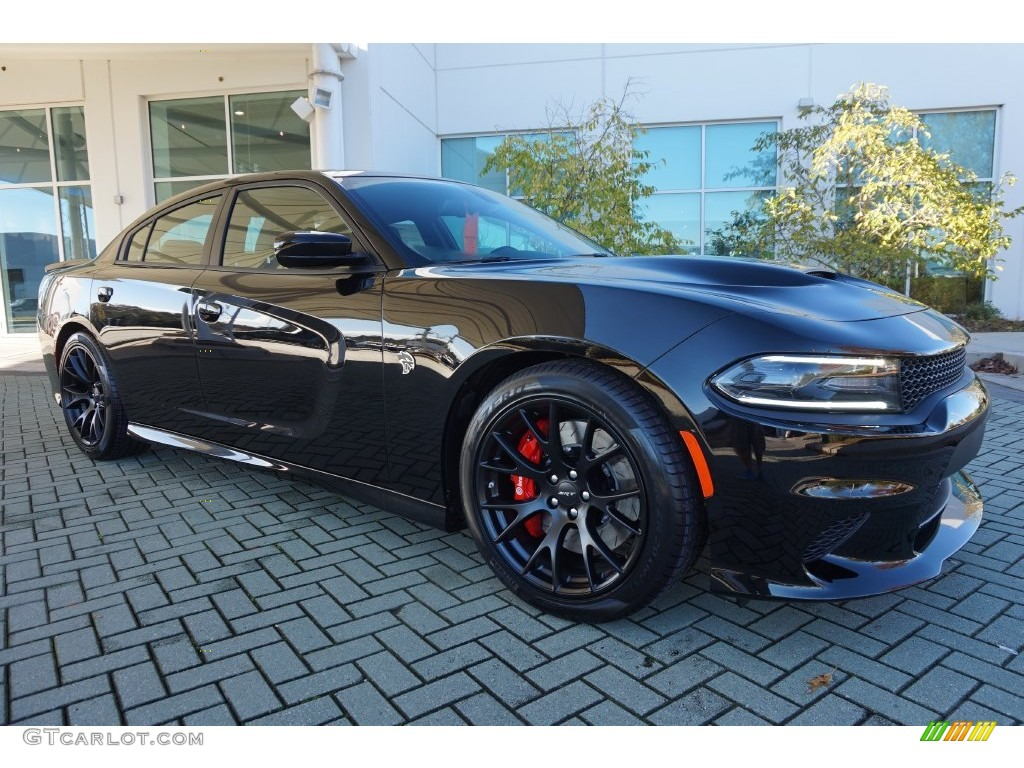 2016 Pitch Black Dodge Charger SRT Hellcat #108824776 ...