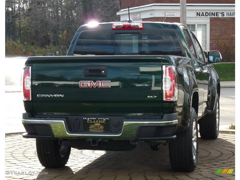 2016 Emerald Green Metallic GMC Canyon SLT Crew Cab 4x4 #108825007 Photo #3   GTCarLot.com - Car ...