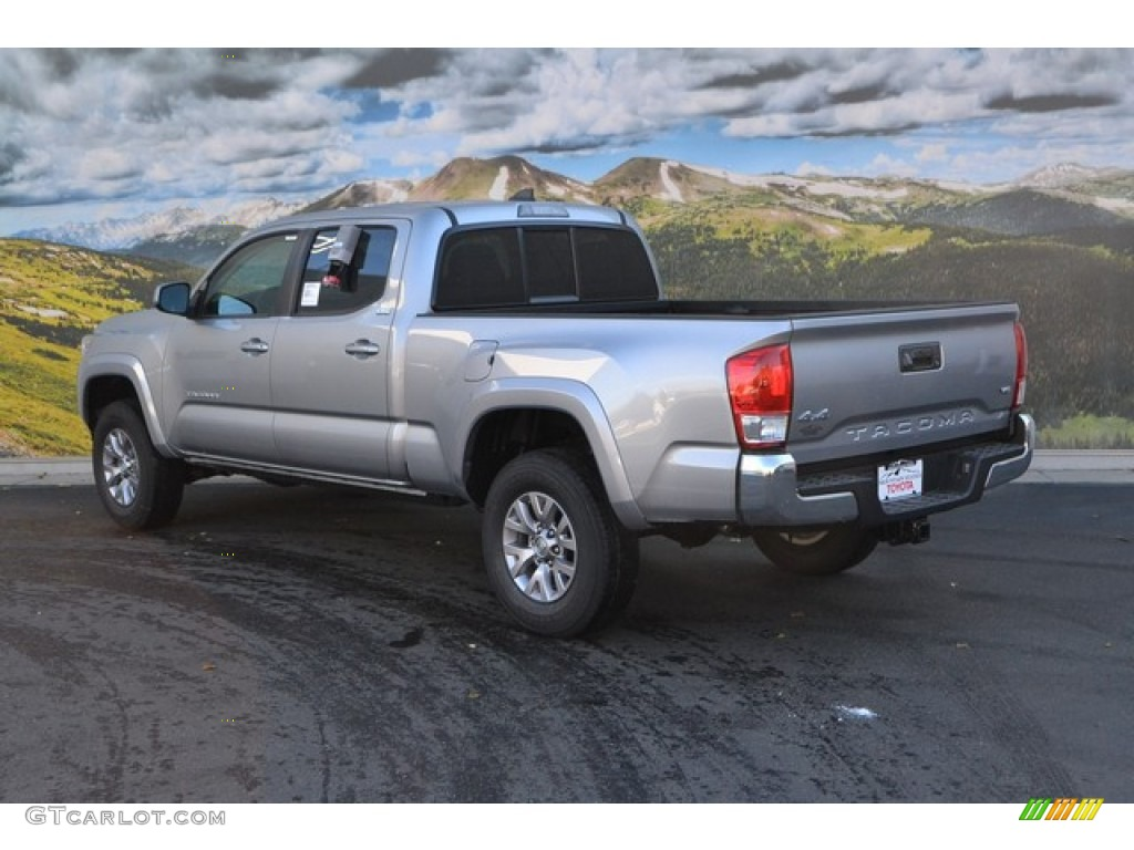 2016 silver sky metallic toyota tacoma sr5 double cab 4x4 108824500 photo 3. Black Bedroom Furniture Sets. Home Design Ideas