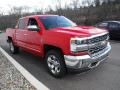 2016 Red Hot Chevrolet Silverado 1500 LTZ Crew Cab 4x4  photo #5