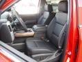 Jet Black Front Seat Photo for 2016 Chevrolet Silverado 1500 #108844343