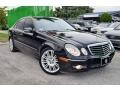 Black 2007 Mercedes-Benz E 550 Sedan
