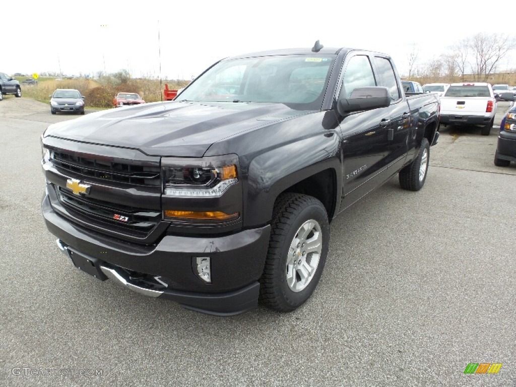 2016 tungsten metallic chevrolet silverado 1500 lt double. Black Bedroom Furniture Sets. Home Design Ideas