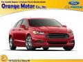 2016 Ruby Red Metallic Ford Fusion SE #108824836