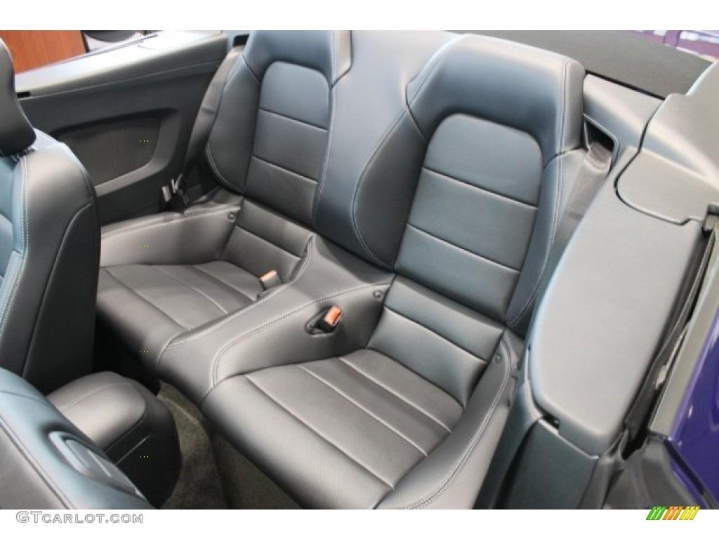 2016 Mustang GT Premium Convertible - Deep Impact Blue Metallic / Ebony photo #8