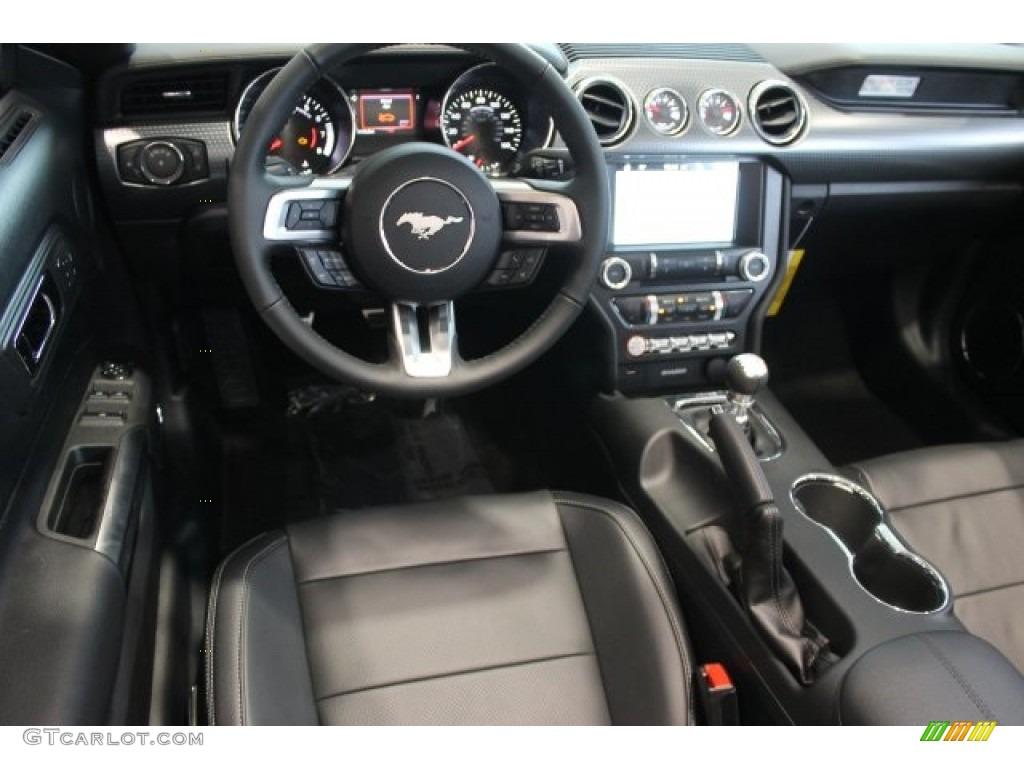 2016 Mustang GT Premium Convertible - Deep Impact Blue Metallic / Ebony photo #9