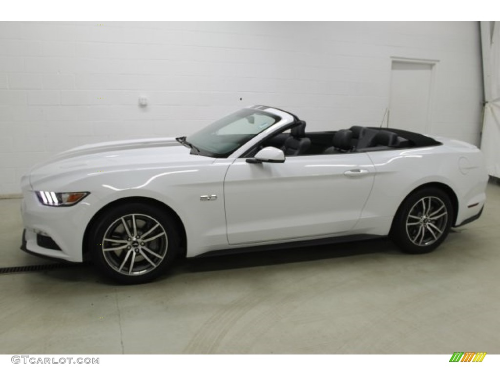 2016 Ford Mustang Gt Premium Convertible Oxford White ...