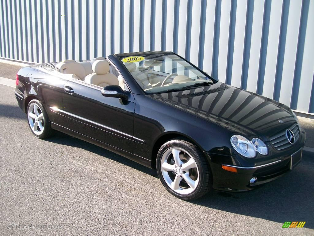 2005 black mercedes benz clk 320 cabriolet 1085692 for Mercedes benz clk 320