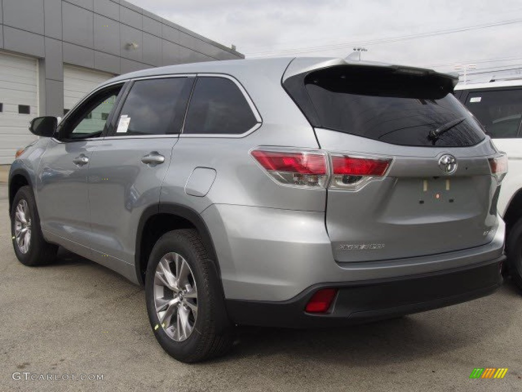 2016 silver sky metallic toyota highlander le plus awd 108864949 photo 3 car. Black Bedroom Furniture Sets. Home Design Ideas