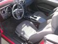 2007 Torch Red Ford Mustang V6 Deluxe Convertible  photo #4