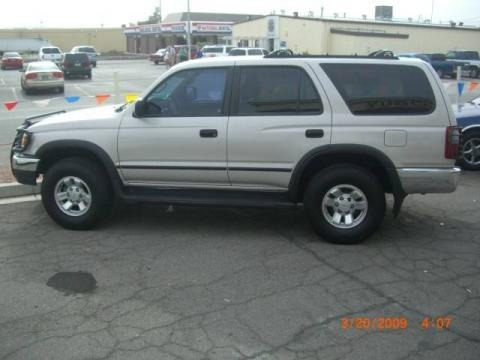 Desert Dune Metallic Toyota 4Runner in 1999. Desert Dune Metallic