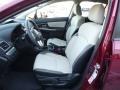 Ivory Front Seat Photo for 2016 Subaru Crosstrek #108885722