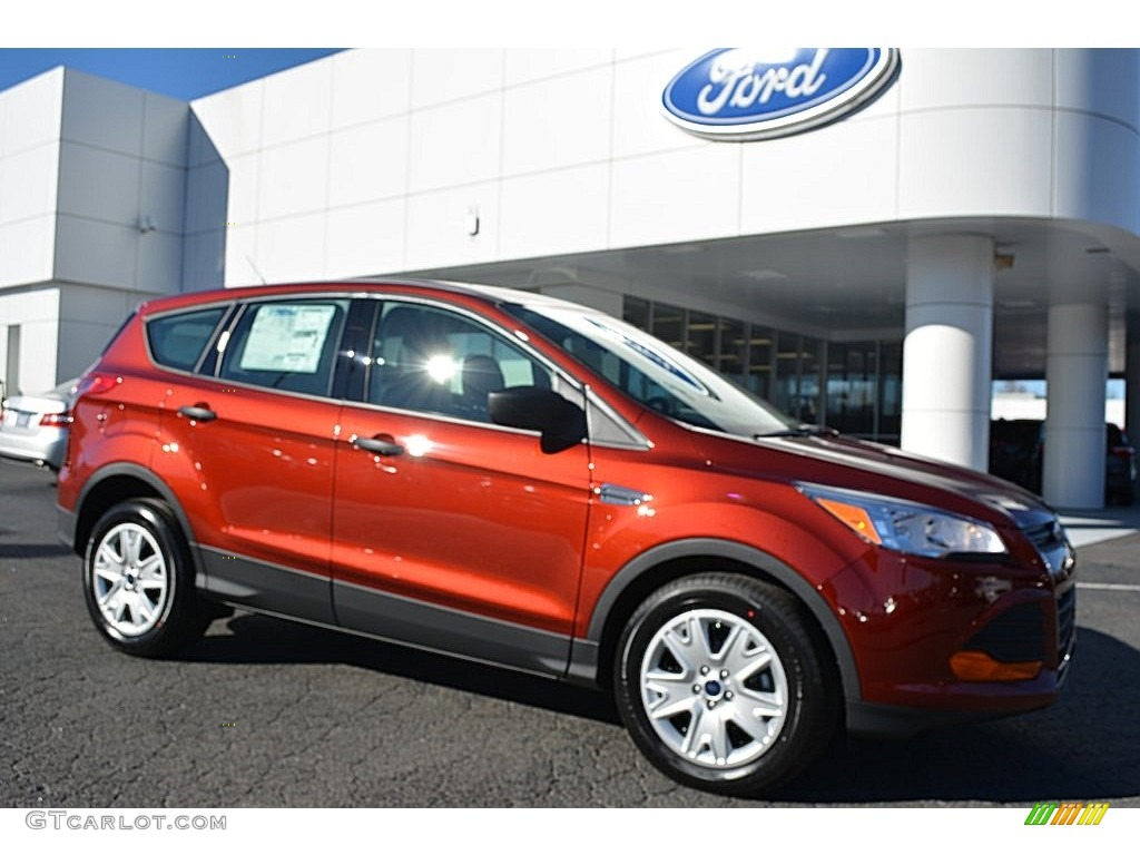 2016 Sunset Metallic Ford Escape S 108864617 Gtcarlotcom Car