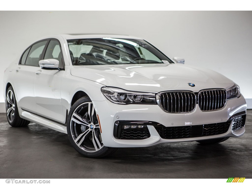 Alpine White 2016 BMW 7 Series 740i Sedan Exterior Photo