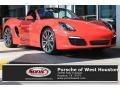 Guards Red 2014 Porsche Boxster S