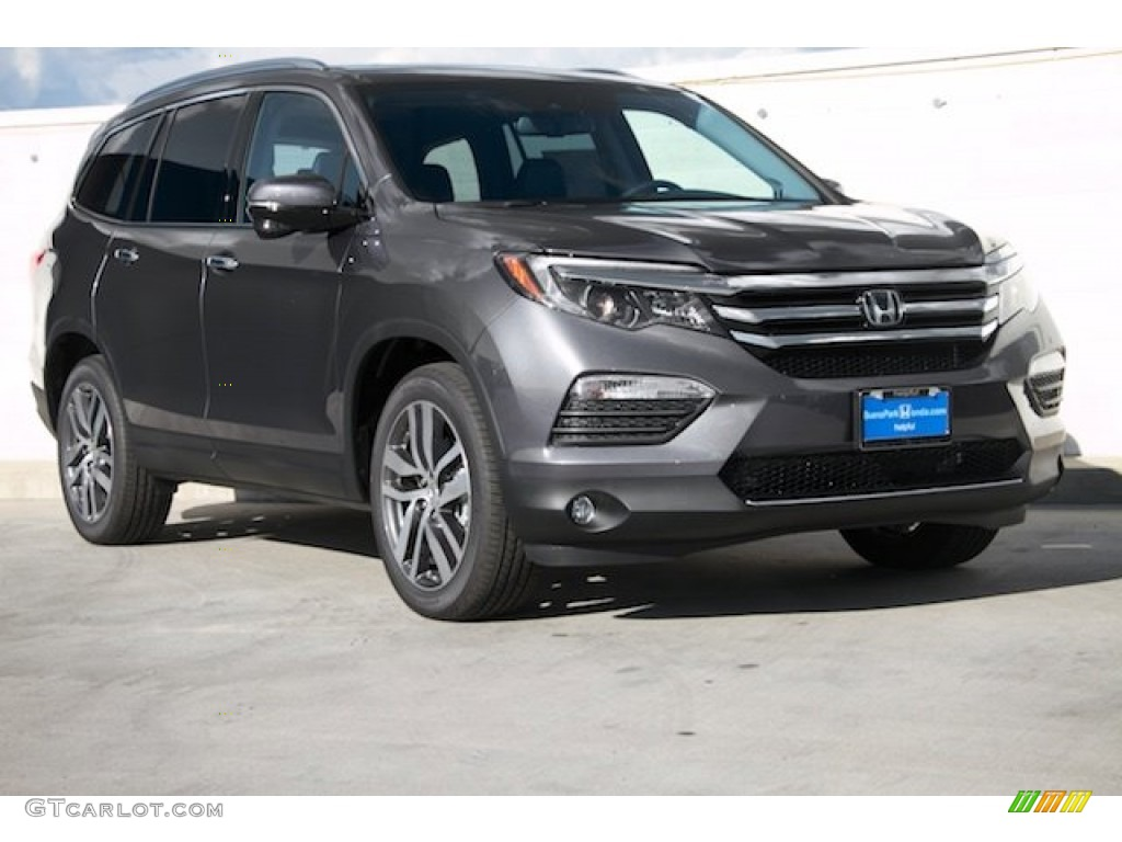 2016 modern steel metallic honda pilot touring 108905330 for Black honda pilot