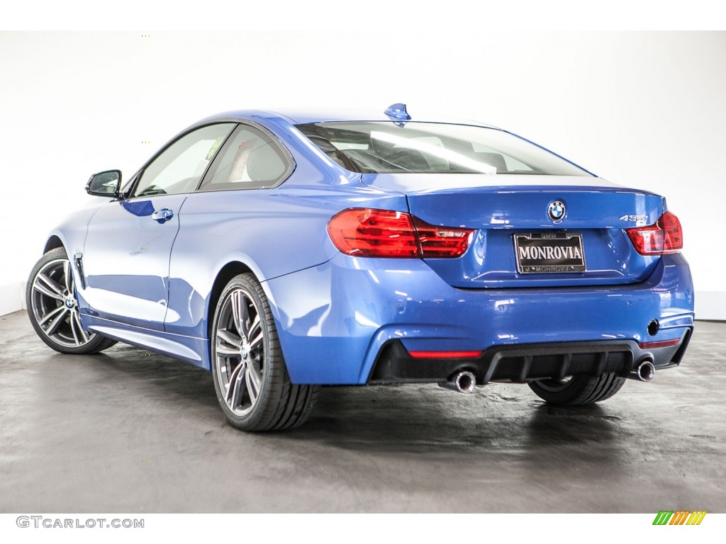 2016 estoril blue metallic bmw 4 series 435i coupe. Black Bedroom Furniture Sets. Home Design Ideas