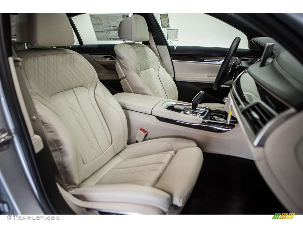 Ivory White Interior 2016 BMW 7 Series 750i XDrive Sedan Photo 108943291