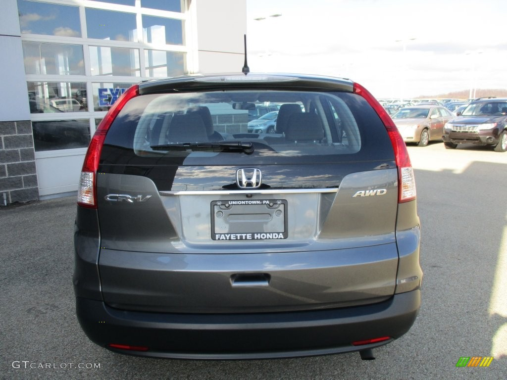 2014 CR-V LX AWD - Polished Metal Metallic / Gray photo #3