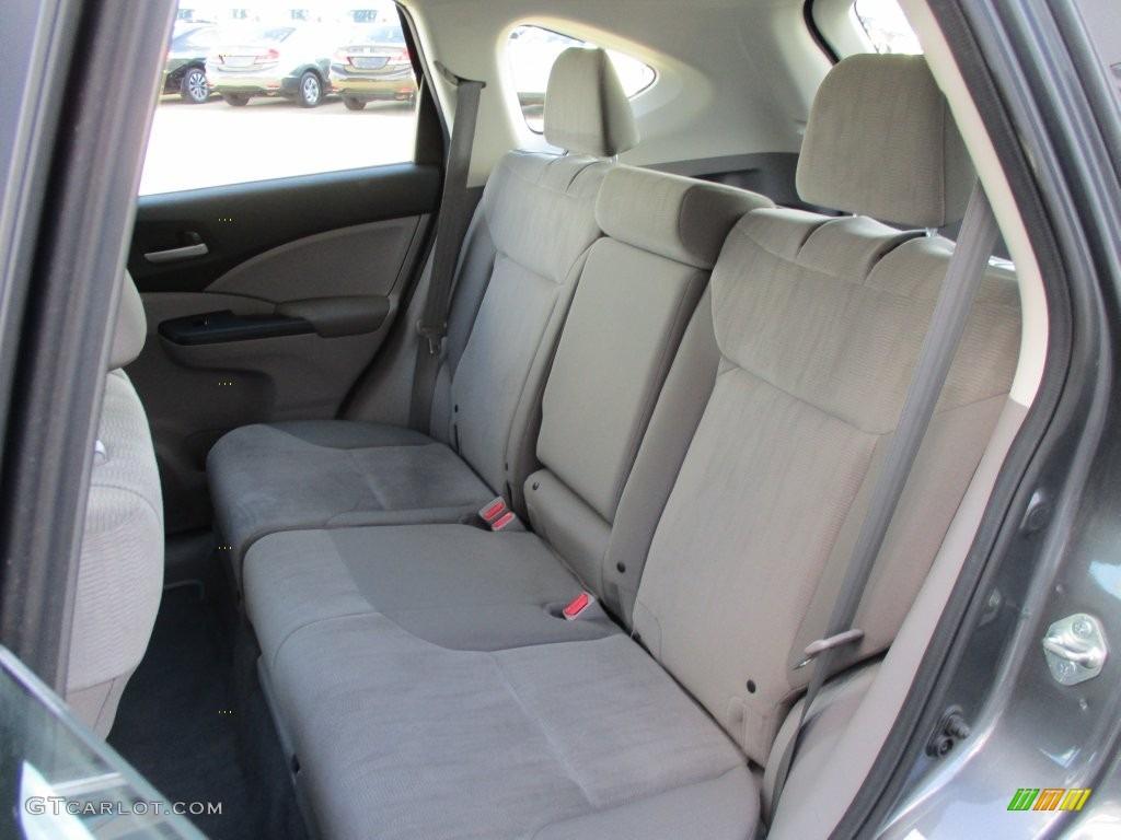 2014 CR-V LX AWD - Polished Metal Metallic / Gray photo #8