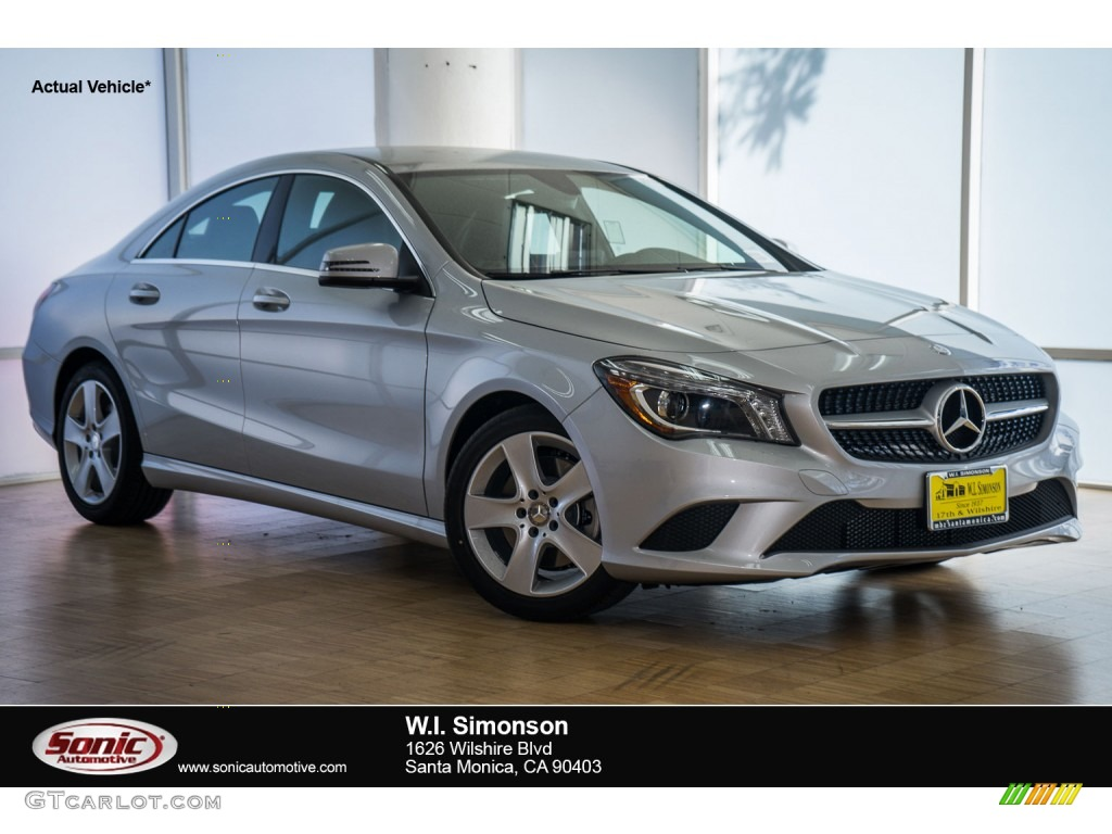 2016 polar silver metallic mercedes benz cla 250