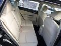 2016 Subaru Impreza Ivory Interior Rear Seat Photo