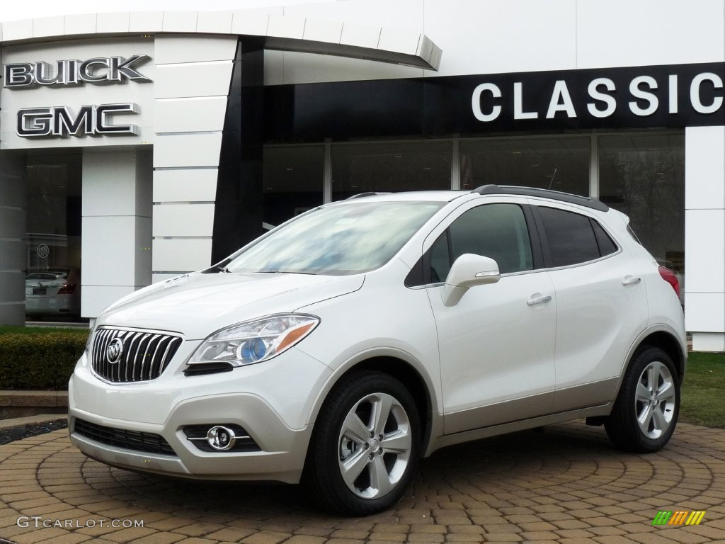 2015 White Pearl Tricoat Buick Encore Convenience 108940867 Photo 5 Car Color
