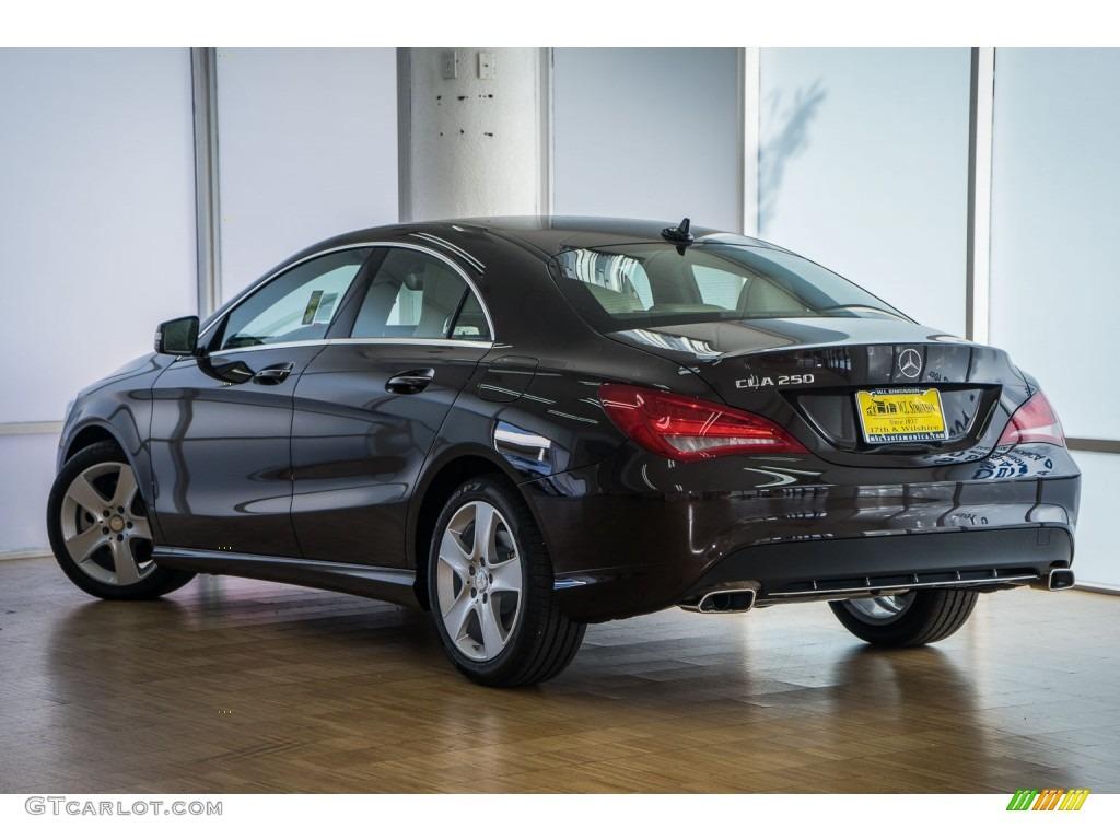 Mercedes benz cla interior beige