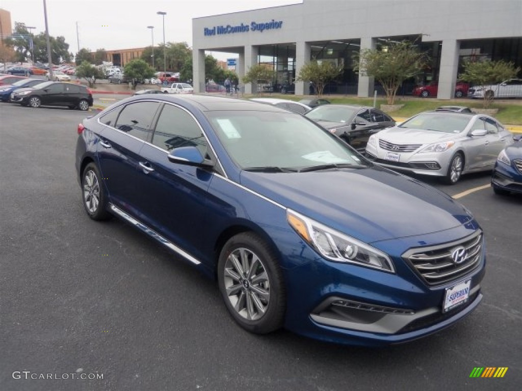 2016 lakeside blue hyundai sonata limited 108972074 car color galleries. Black Bedroom Furniture Sets. Home Design Ideas