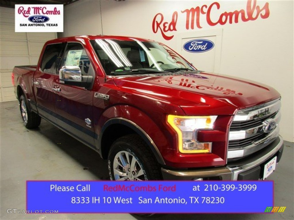 2016 Ruby Red Ford F150 King Ranch Supercrew 4x4 108972071