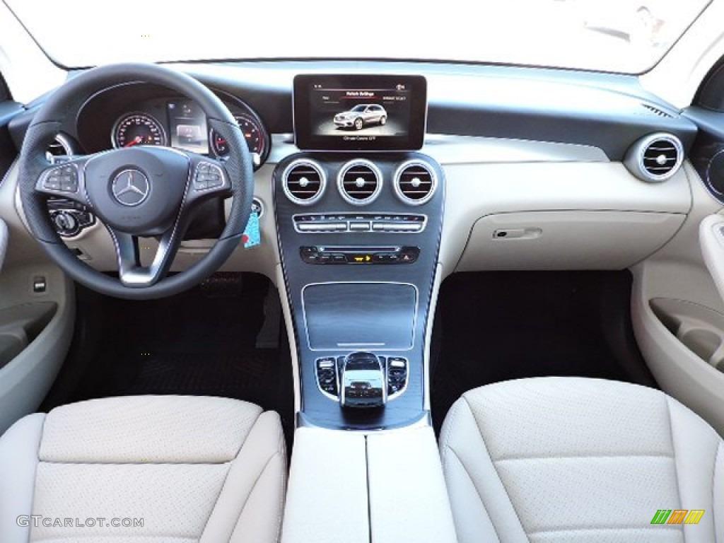 Silk Beige Interior 2016 Mercedes Benz Glc 300 4matic Photo 108975695